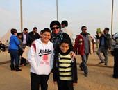 """المشاركون باحتفالية """"مصريون ضد الإرهاب"""": نحاول دعم الاقتصاد والسياحة"""