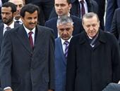 تداول فيديو لأمير قطر تظهر عليه علامات الارتباك والارتجاف مع أردوغان