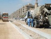 خدمات مرورية بمحيط أعمال مد كابلات بشارع بورسعيد فى حدائق القبة لمدة أسبوع