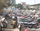 ضبط 765 مخالفة دراجات بخارية بدون لوحات بالمحافظات