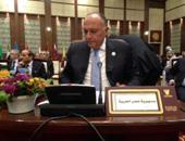 وزير الخارجية: مصر لا تزايد على مصلحة شعب فلسطين وتعمل لتوطيد المصالحة