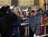 """ضبط عدد من المتظاهرين ومثيرى الشغب فى ميدان """"عبد المنعم رياض"""""""