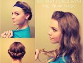بالصور.. 6 طرق للحصول على شعر كيرلى دون تعريضه للحرارة