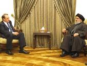 حسن نصر الله يبحث مع نائب وزير خارجية روسيا الأحداث بلبنان وسوريا