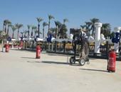 إنشاء وتطوير 17 محطة وقود للعمل بالغاز وساحة لتخريد السيارات القديمة ببورسعيد