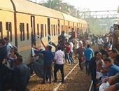 """""""السكة الحديد"""": حركة الصعيد لم تتعطل وقطار البدرشين """"توقف لدقائق"""""""