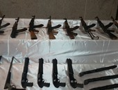 حبس 3 عاطلين لحيازتهم أسلحة نارية بدون ترخيص فى 15 مايو