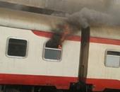 صحة المنوفية إصابة 16 حالة باختناق فى حريق قطارا طنطا