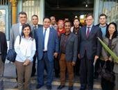 """""""تعليم دمياط"""" يستقبل وفد مؤسسة بلان مصر الخير"""
