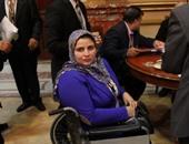 نائبة عن ذوى الإعاقة: الأنظمة السابقة أهدرت حقوقنا والرئيس السيسى اهتم بها