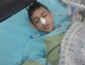 صحافة المواطن... بالصور: إهمال طبى يتسبب فى غلق معدة طالب بالإسكندرية