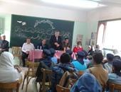 """""""نائبات قادمات"""" تزور معهد أزهرى بمدينة نصر للتعريف بخطر الإدمان"""
