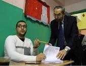 رشاد عبده أثناء الإدلاء بصوته فى الزمالك: انعقاد البرلمان يجذب الاستثمار