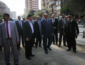 بالفيديو والصور.. مدير أمن القاهرة يتفقد اللجان الانتخابية بالسيدة زينب