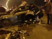 مصرع زوجين فى حادث تصادم دراجة بخارية بسيارة ببنى سويف
