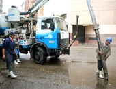 نظافة القاهرة: إزالة تجمعات المياه بكوبرى المطار وميادين مصر الجديدة ورمسيس