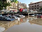 صحافة المواطن: بالفيديو وبالصور: مياه مجارى مستشفى الحسين الجامعى تدمر بضائع التجار