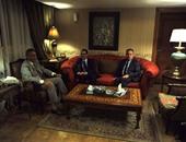 وزير النقل يلتقى رئيس هيئة التنمية الاقتصادية لقناة السويس للتخطيط المشترك