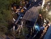 بالصور.. ارتفاع ضحايا حرس الحدود الأرجنتينى بالحادث المرورى لـ 43 قتيلاً