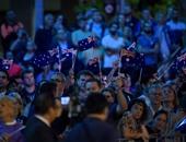 بالصور.. الألاف يحيون الذكرى الأولى لضحايا الهجوم على مقهى فى استراليا