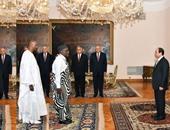السيسى يعتمد أوراق 17 سفيراً أبرزهم ألمانيا وتونس والفلبين وفيتنام ومالى
