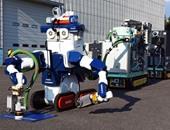 """بالصور.. اليابان تطور """"روبوت جديد"""" لإزالة المخلفات النووية فى المصانع"""