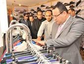 بالصور.. عميد هندسة الإسكندرية يفتتح معرض السوق الخيرى السنوى