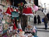 بيت لحم تبدأ مراسم احتفال عيد الميلاد بالفرق الموسيقية