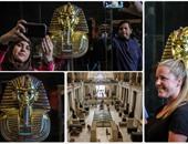 لأول مرة.. وزير الآثار يسمح بتصوير كنوز المتحف المصرى