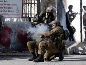 إصابة فتى فلسطينى بعد الاعتداء عليه بالضرب من جنود الاحتلال الإسرائيلى