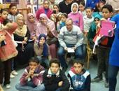 بالصور.. زيارات مدرسية لقصور الثقافة بالشرقية لتوعية الطلاب بأهمية القراءة