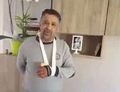 قلق جمهور الشاب خالد على مطربهم بعد إصابة يده وحادث عنابة