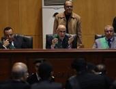 """رفع جلسة محاكمة علاء وجمال مبارك  فى قضية """"التلاعب بالبورصة"""" للاستراحة"""