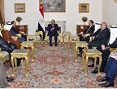 السيسى يرحب بمشاركة الشركات العربية فى مجال البحث والتنقيب عن النفط والغاز