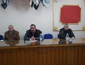 رئيس مدينة المحلة يتفقد مصنع تدوير القمامة قبل زيارة المحافظ