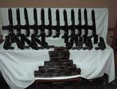 ضبط متهم فى 61 قضية بحوزته سلاح خرطوش فى حملة أمنية بالخارجة