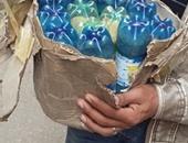 """11 زجاجة مياه غازية مدون عليها """"خطر"""" تثير الذعر بفيصل"""