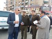 بالصور.. مدير أمن الغربية يتفقد نقطة شرطة السلام بطنطا وإدارة تأمين الطرق