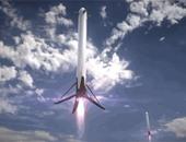 بالفيديو والصور..SpaceX  تدخل التاريخ بإطلاق أول صاروخ يمكنه الهبوط على أرض صلبة.. ينقل 11 قمرا صناعيا للمدار الأرضى المنخفض.. يفتح المجال لتوفير النفقات.. ويبعث الأمل لعودة رواد رحلة المريخ المقبلة