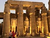 تخفيض عروض الصوت والضوء بمعبد الكرنك 50% خلال ذكرى ثورة 30 يونيو
