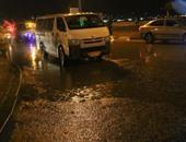 هطول أمطار متوسطة على نواحى متفرقة بالإسكندرية