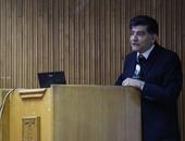 """بالصور.. بدء ندوة العالم محمد النشائى بـ""""علوم الإسكندرية"""" عن المفاعلات النووية"""