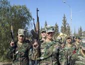الجيش السورى يستعيد السيطرة على بلدة الدرخبية بالغوطة الغربية فى حلب