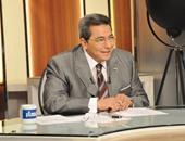 """شاهد.. كواليس تسجيل محمود سعد لـ برومو برنامج """"باب الخلق"""""""