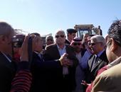 بالصور.. محافظ جنوب سيناء: تجديد الثقة يزيدنى إصرارا على مواصلة العمل