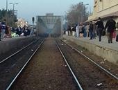 توقف قطار ركاب 872 بالحوامدية لتعطل جراره أثناء رحلته إلى الصعيد