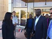 جورج وايا يصل شرم الشيخ لدعم دورى ساتوك للأيتام