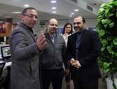 بالصور..محمد الباز من اليوم السابع: سنتعاون لمواجهة تحديات النشر الإلكترونى