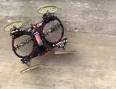 بالفيديو.. VertiGo روبوت صغير فى شكل سيارة يمكنه تسلق الجدران