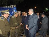 محافظ الغربية ومدير الأمن يناقشان الاستعدادات الأمنية لأعياد الأقباط